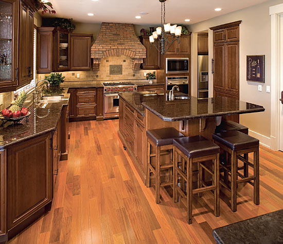 Custom home reflects style quality legacy kitchens news for Quality kitchens