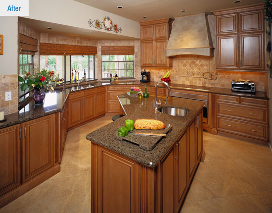 From Cramped Outdated To Spacious Timeless Legacy Kitchens News