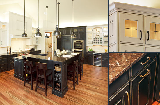 New Home Kitchen Ideas A Large U Shaped Island