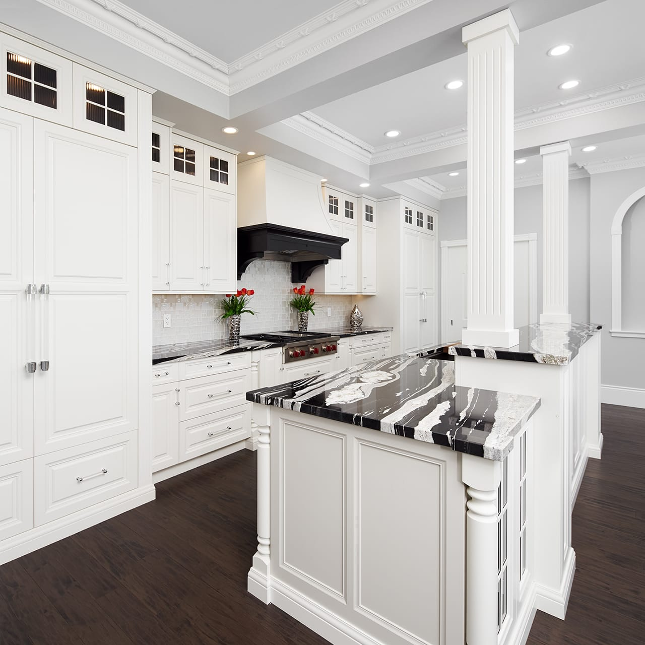 Modern Georgian Kitchen Design