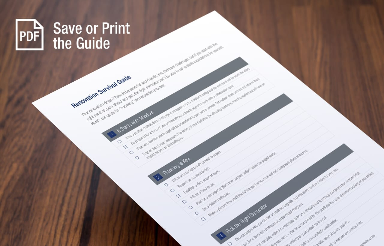 Save or Print the Guide in PDF Format