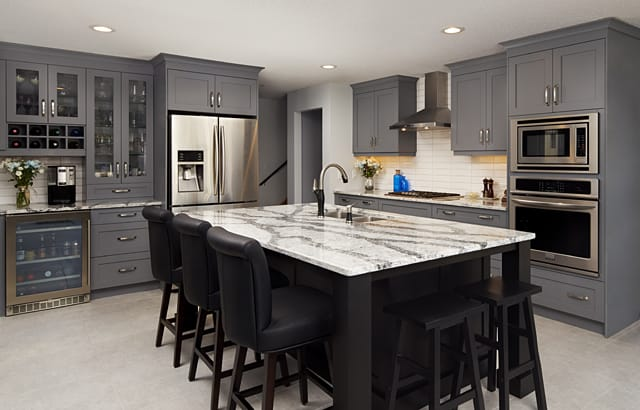 Design Brief: Welcoming Two Tone Transitional Kitchen