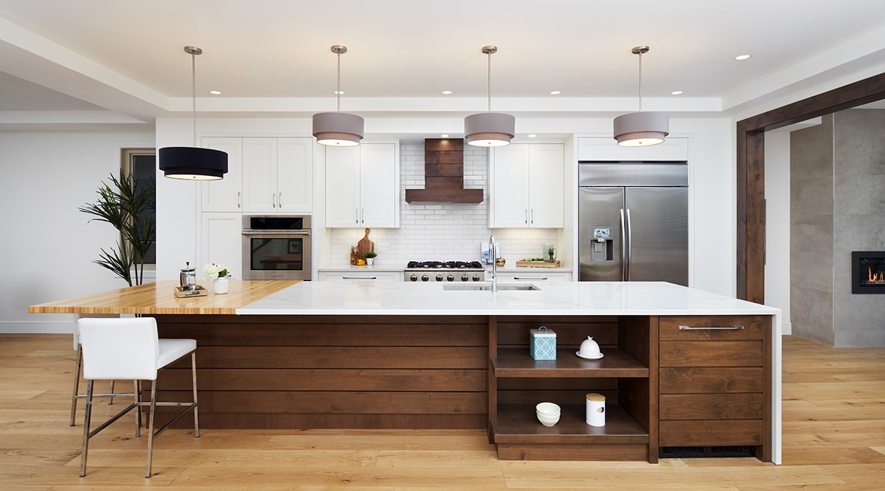 Transitional Kitchen with a Modern Twist